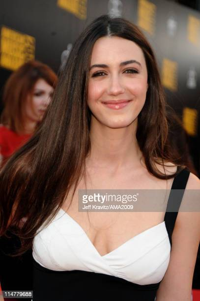 Actress Madeline Zima arrives at the 2009 American Music Awards at Nokia Theatre LA Live on November 22 2009 in Los Angeles California