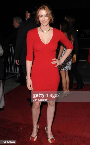 Actress Madeline Zima arrives at the Los Angeles Premiere '127 Hours' at AMPAS Samuel Goldwyn Theater on November 3 2010 in Beverly Hills California