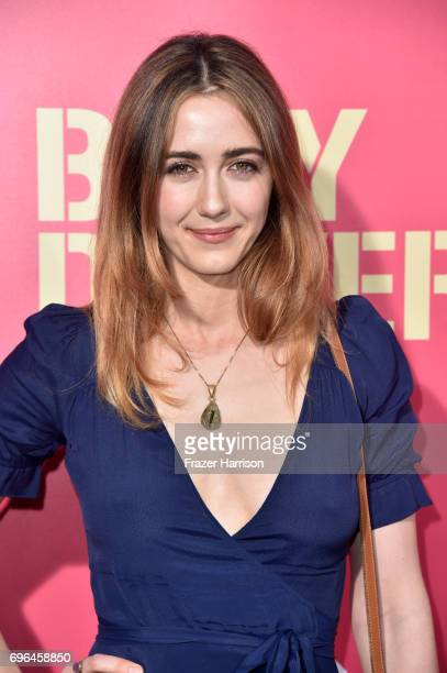 Actress Madeline Zima arrives at the Premiere of Sony Pictures' 'Baby Driver' at Ace Hotel on June 14 2017 in Los Angeles California