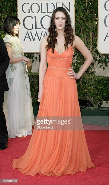 Actress Madeline Zima arrives for the 66th Annual Golden Globe Awards in Beverly Hills California US on Sunday Jan 11 2009 Heath Ledger received a...