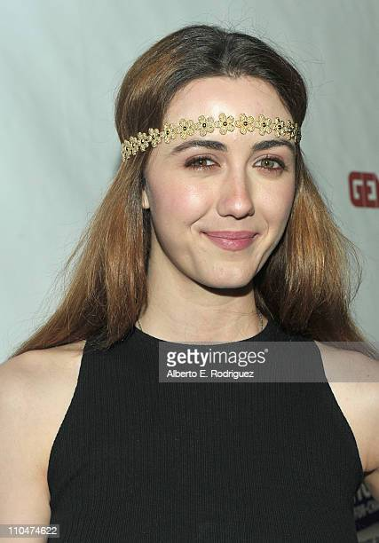 Actress Madeline Zima arrives to Generosity Water's 3rd Annual 'Night of Generosity' benefit on March 18 2011 in Los Angeles California