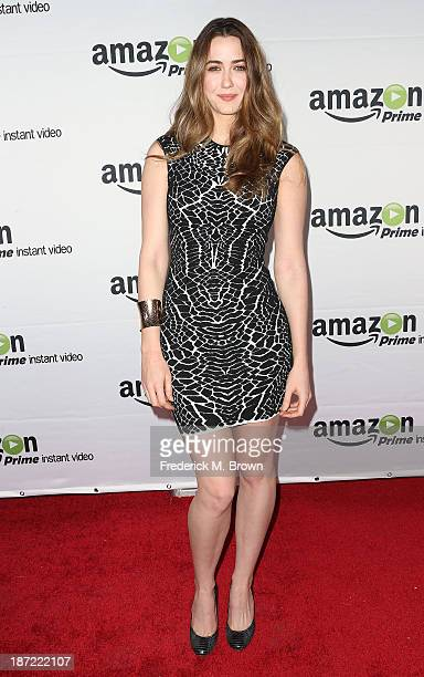 Actress Madeline Zima attends Amazon Studios Launch Party to Celebrate Premieres of their First Original Series at Boulevard3 on November 6 2013 in...