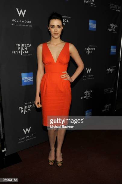 Actress Madeline Zima attends the 2010 Tribeca FIlm Festival Program Lauch of Tribeca Film New Distribution at W Hollywood on March 23 2010 in...