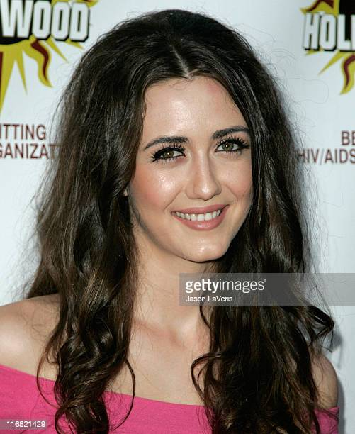 Actress Madeline Zima attends the 3rd annual 'Hot In Hollywood' event at The Avalon on August 16 2008 in Hollywood California