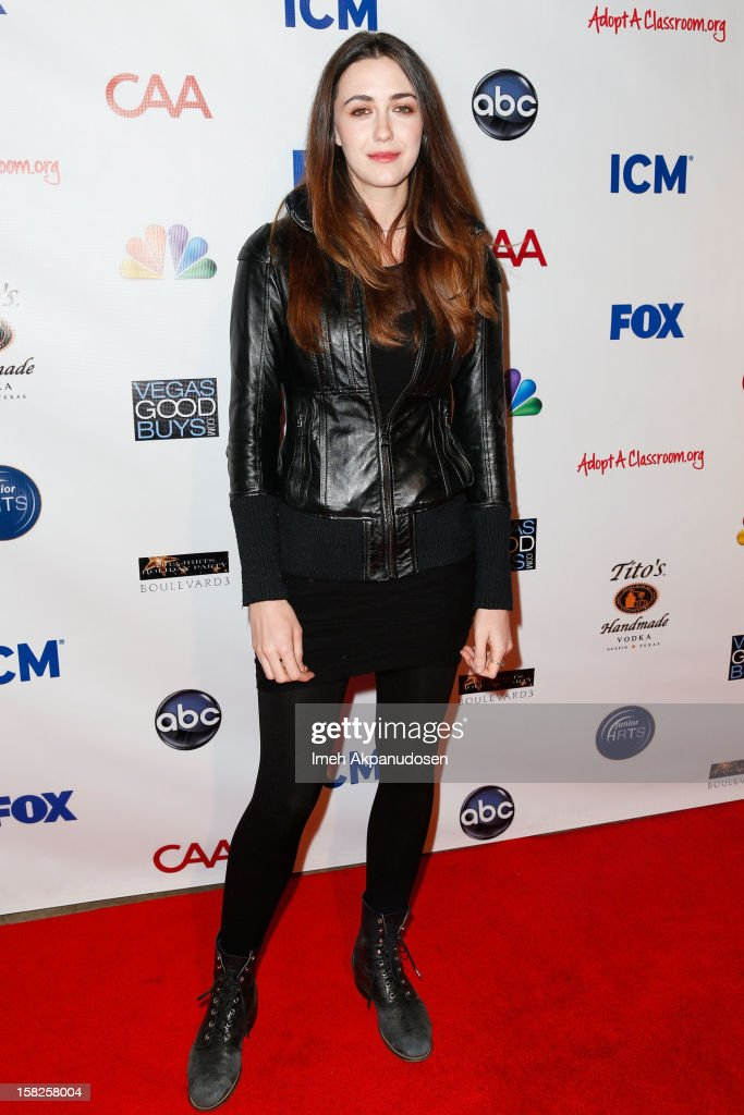 Actress Madeline Zima attends the Junior Hollywood Radio & Television Society (JHRTS) Holiday Party at Boulevard3 on December 11, 2012 in Hollywood, California.