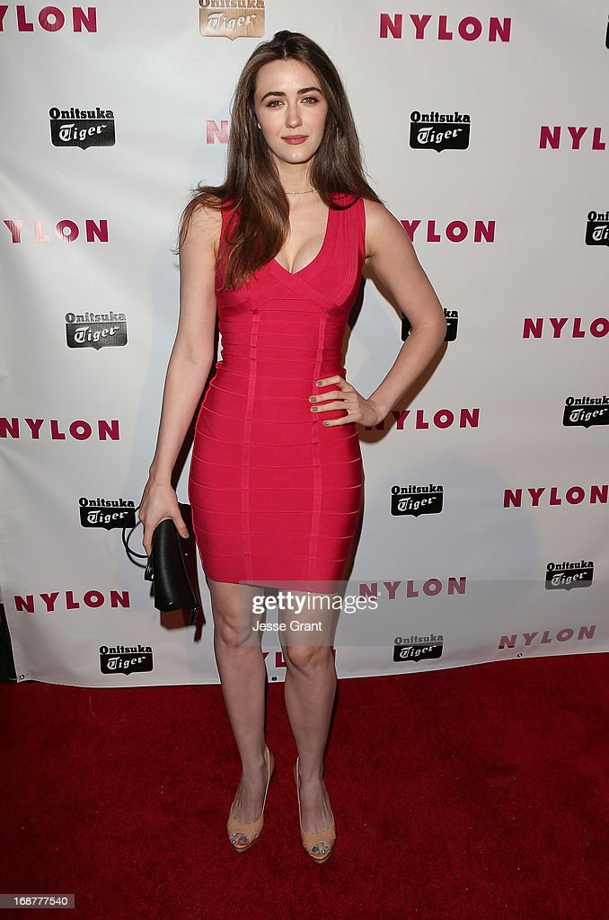 Actress Madeline Zima attends the NYLON Magazine Annual May Young Hollywood Issue Party at The Roosevelt Hotel on May 14, 2013 in Hollywood, California.