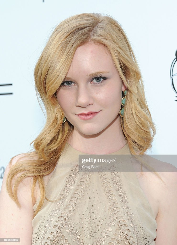 Actress Madisen Beaty attends the 6th Annual Women In Film Pre-Oscar Party hosted by Perrier Jouet, MAC Cosmetics and MaxMara at Fig & Olive on February 22, 2013 in Los Angeles, California.