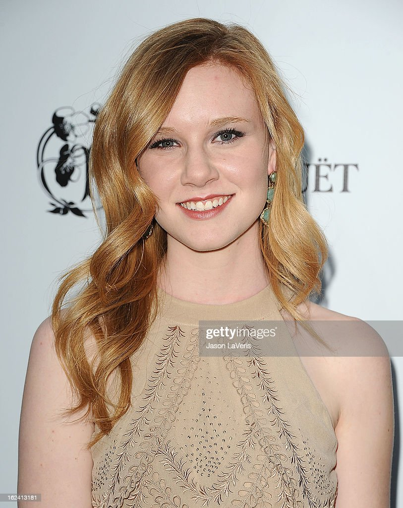 Actress Madisen Beaty attends the 6th annual Women In Film pre-Oscar cocktail party at Fig & Olive Melrose Place on February 22, 2013 in West Hollywood, California.