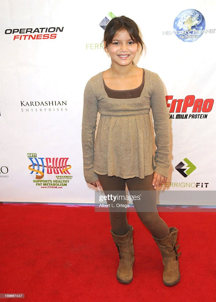 Actress Madison Marie participates in the Red Carpet Health Expo held at The Vitamin Shoppe on January 12, 2013 in Los Angeles, California.