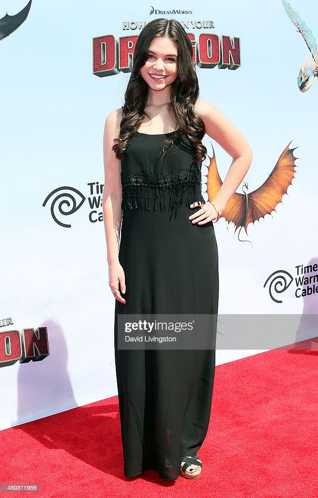 Actress Madison McLaughlin attends the premiere of Twentieth Century Fox and DreamWorks Animation 'How to Train Your Dragon 2' at the Regency Village Theatre on June 8, 2014 in Westwood, California.