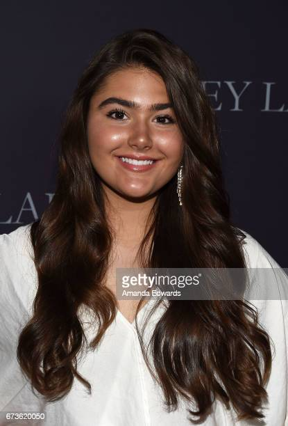 Actress Madison Moore arrives at the premiere of Pataphysical Production's 'Grey Lady' at The Landmark on April 26 2017 in Los Angeles California