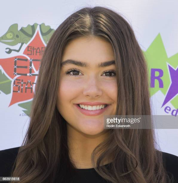 Actress Madison Moore attends 17th Annual Children's Earth Day Extravaganza at Star Eco Station on April 2 2017 in Culver City California