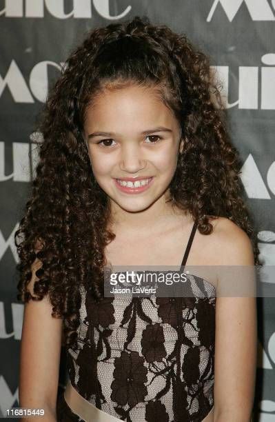 Actress Madison Pettis attends the 16th Annual Movieguide Awards at the Beverly Hilton Hotel on February 12 2008 in Beverly Hills California