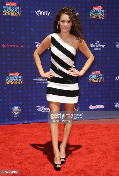 Actress Madison Pettis attends the 2017 Radio Disney Music Awards at Microsoft Theater on April 29 2017 in Los Angeles California