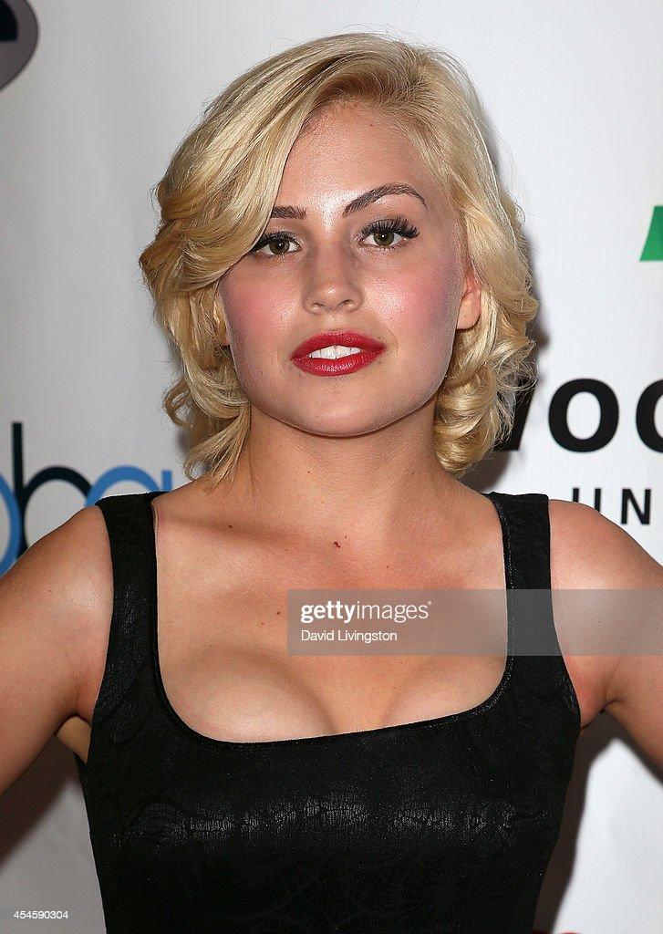 Actress Madison Rose attends the Burbank International Film Festival opening night at AMC Burbank 16 on September 3 2014 in Burbank California
