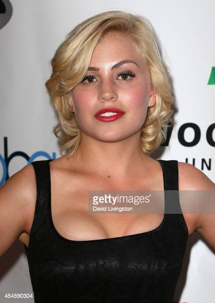 Actress Madison Rose attends the Burbank International Film Festival opening night at AMC Burbank 16 on September 3 2014 in Burbank California