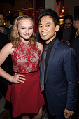 Actress Madison Wolfe and filmmaker James Wan attend the after party for the premiere of 'The Conjuring 2' during the 2016 Los Angeles Film Festival...