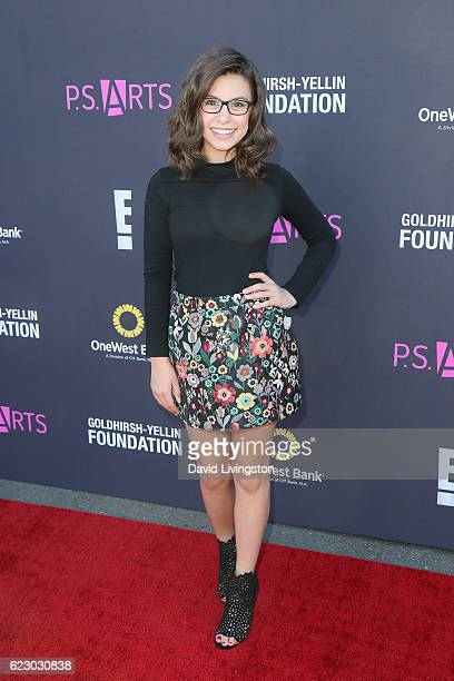 Actress Madisyn Shipman arrives at the PS ARTS' Express Yourself 2016 at Barker Hangar on November 13 2016 in Santa Monica California