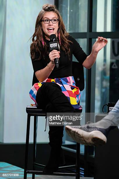 Actress Madisyn Shipman attends Build Series presents Madisyn Shipman discussing 'Game Shakers' at Build Studio on January 25 2017 in New York City