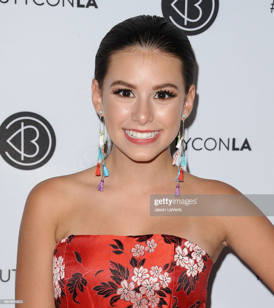 Actress Madisyn Shipman attends the 5th annual Beautycon festival at Los Angeles Convention Center on August 13, 2017 in Los Angeles, California.