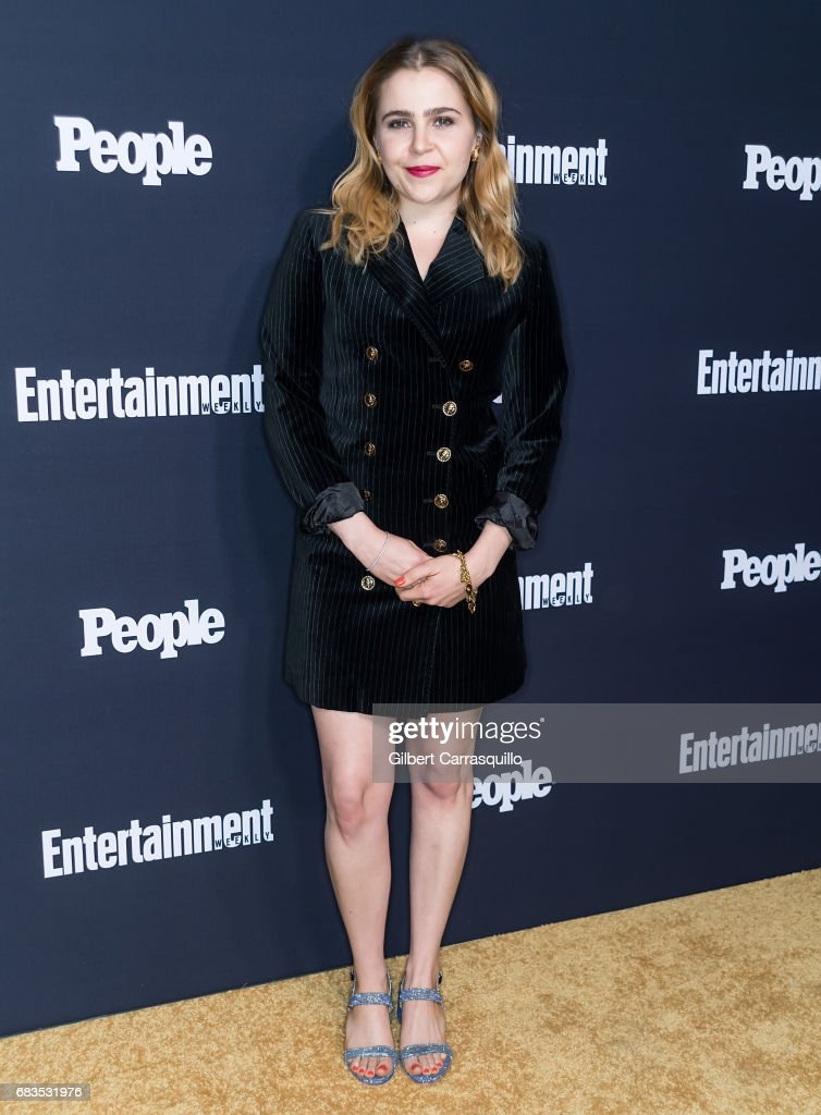 Actress Mae Whitman attends the Entertainment Weekly & People New York Upfronts at 849 6th Ave on May 15, 2017 in New York City.