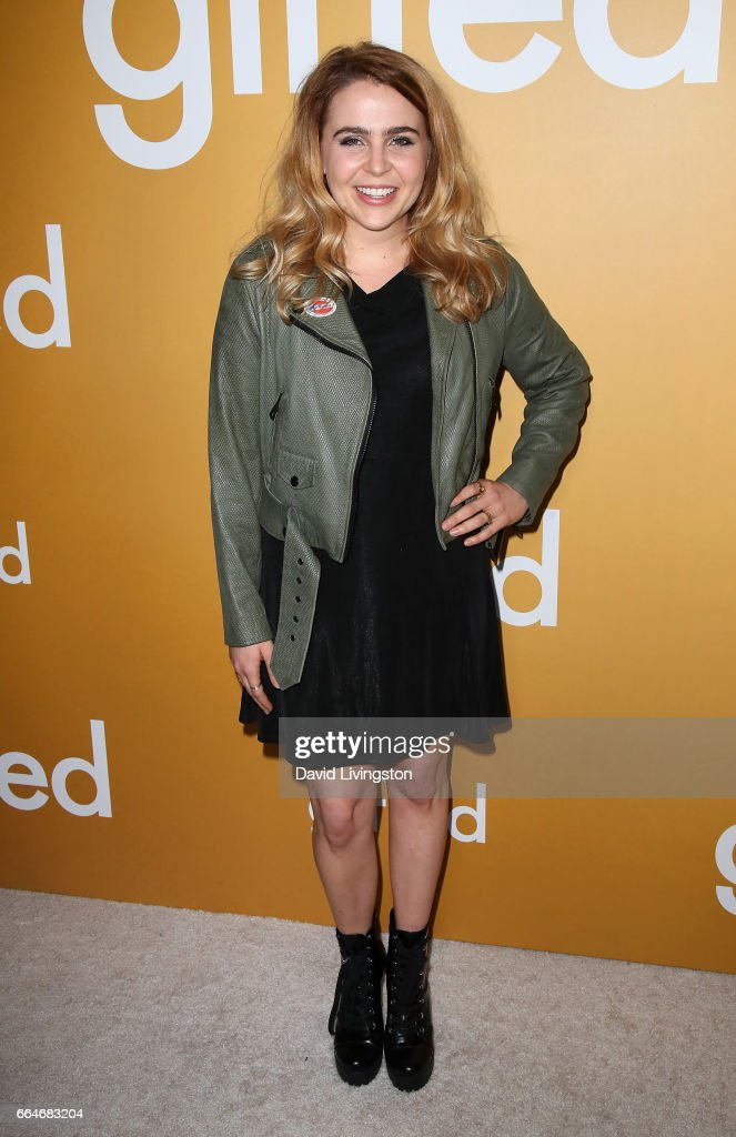 Actress Mae Whitman attends the premiere of Fox Searchlight Pictures' 'Gifted' at Pacific Theaters at The Grove on April 4, 2017 in Los Angeles, California.