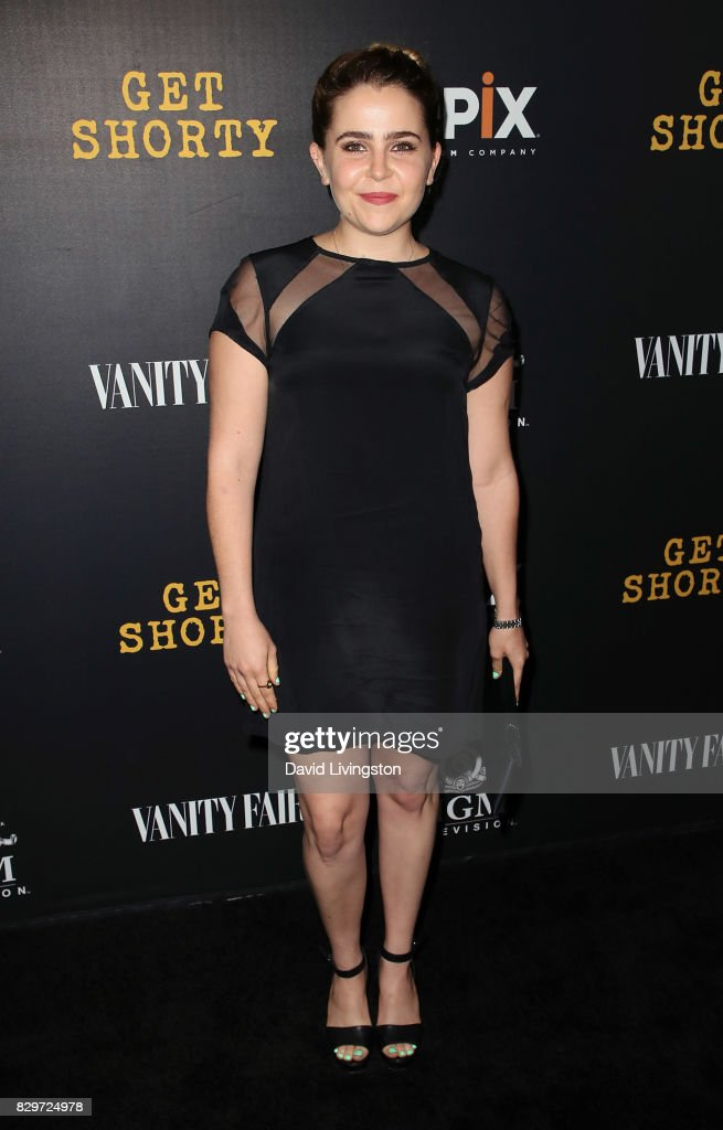 Actress Mae Whitman attends the red carpet premiere of EPIX original series 'Get Shorty' at Pacfic Design Center on August 10, 2017 in West Hollywood, California.