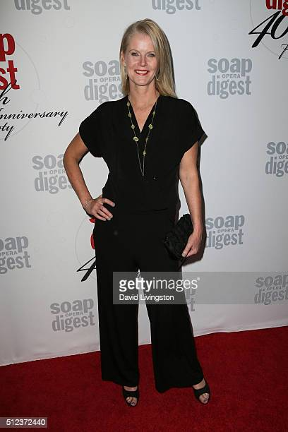 Actress Maeve Quinlan arrives at the 40th Anniversary of the Soap Opera Digest at The Argyle on February 24 2016 in Hollywood California