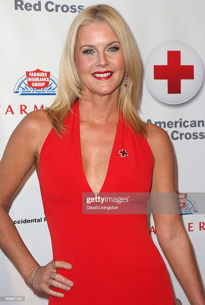 Actress Maeve Quinlan attends the 7th Annual American Red Cross Red Tie Affair at the Fairmont Miramar Hotel on April 6, 2013 in Santa Monica, California.