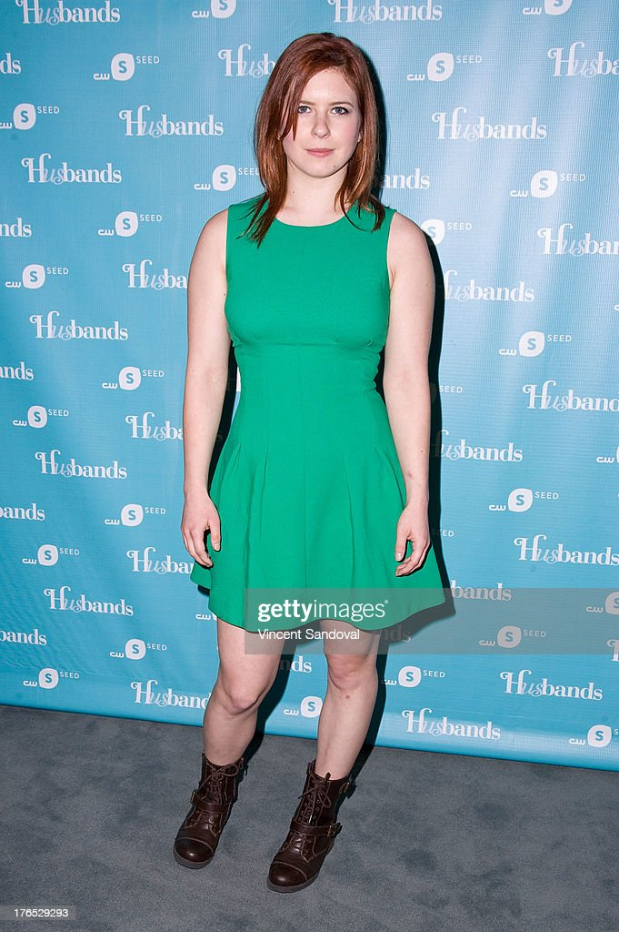 Actress Magda Apanowicz attends the CWSeed 'Husbands' premiere at The Paley Center for Media on August 14, 2013 in Beverly Hills, California.