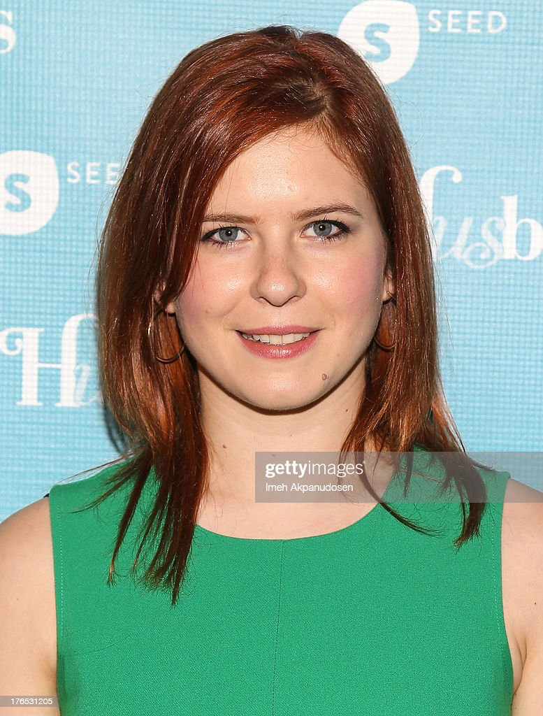Actress Magda Apanowicz attends the premiere of CW Seed's 'Husbands' at The Paley Center for Media on August 14, 2013 in Beverly Hills, California.