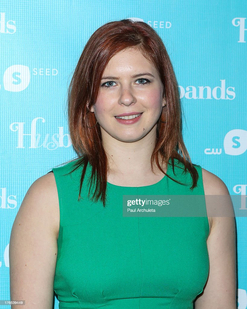 Actress Magda Apanowicz attends the premiere of 'Husbands' at The Paley Center for Media on August 14, 2013 in Beverly Hills, California.