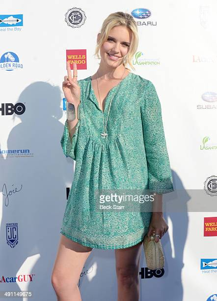 Actress Maggie Grace arrives at Heal The Bay 'Bring Back The Beach' fundraiser at The Jonathan Club on May 15 2014 in Santa Monica California