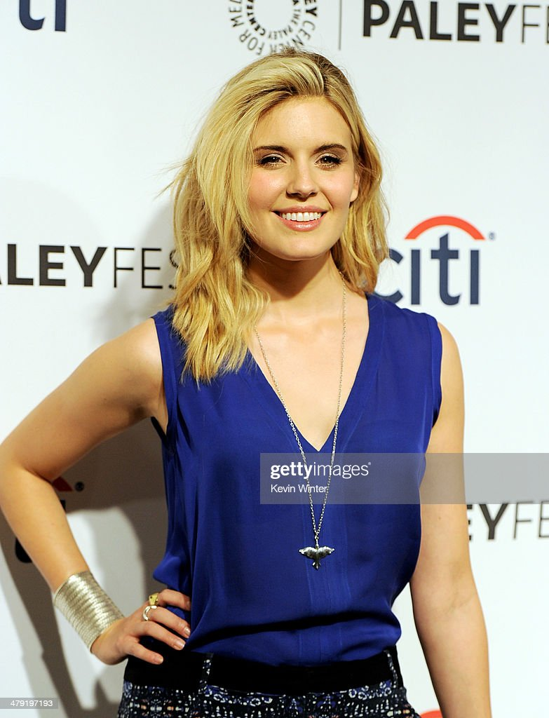 Actress Maggie Grace arrives at The Paley Center Media's PaleyFest 2014 Honoring 'Lost' 10th Anniversary Reunion at the Dolby Theatre on March 16, 2014 in Los Angeles, California.