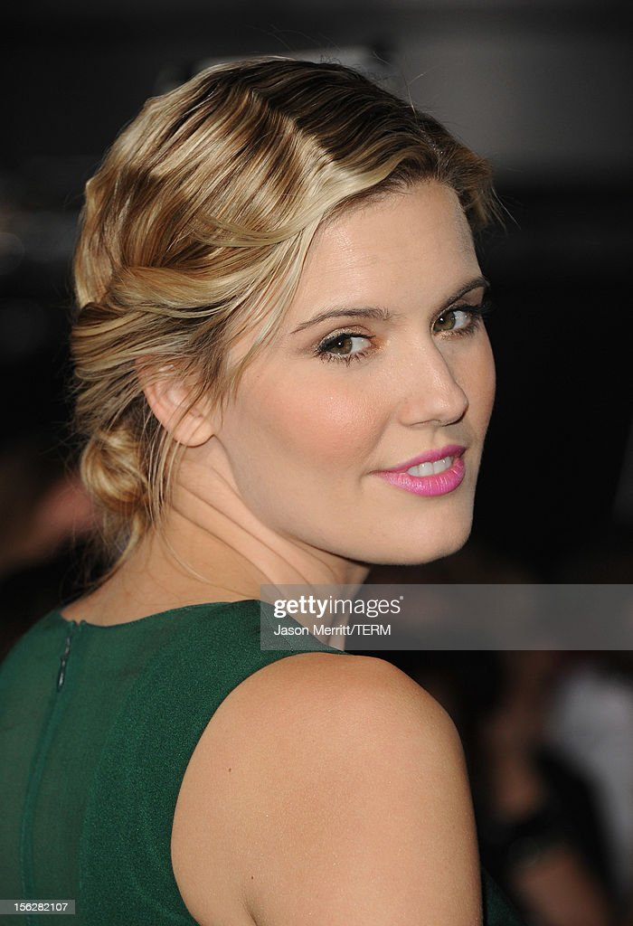 Actress Maggie Grace arrives at the premiere of Summit Entertainment's 'The Twilight Saga: Breaking Dawn - Part 2' at Nokia Theatre L.A. Live on November 12, 2012 in Los Angeles, California.