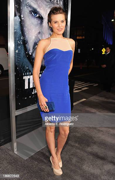 Actress Maggie Grace arrives to the premiere of Open Road Films' 'The Grey' on January 11 2012 in Los Angeles California