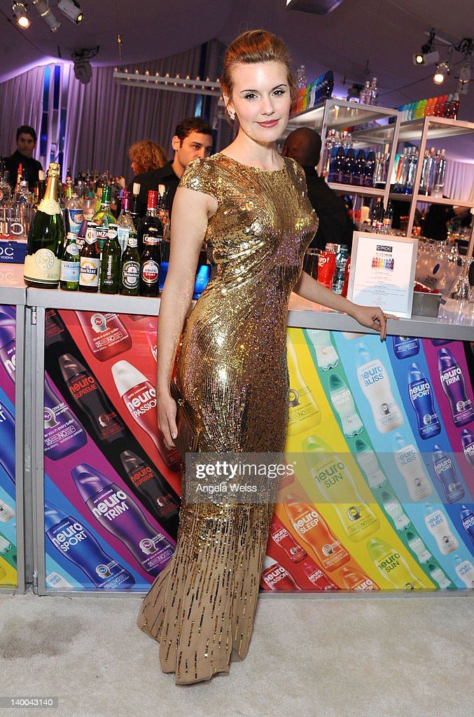 Actress <a gi-track='captionPersonalityLinkClicked' href=/galleries/search?phrase=Maggie+Grace&family=editorial&specificpeople=213706 ng-click='$event.stopPropagation()'>Maggie Grace</a> attends CIROC Vodka at 20th Annual Elton John AIDS Foundation Academy Awards Viewing Party at The City of West Hollywood Park on February 26, 2012 in Beverly Hills, California.