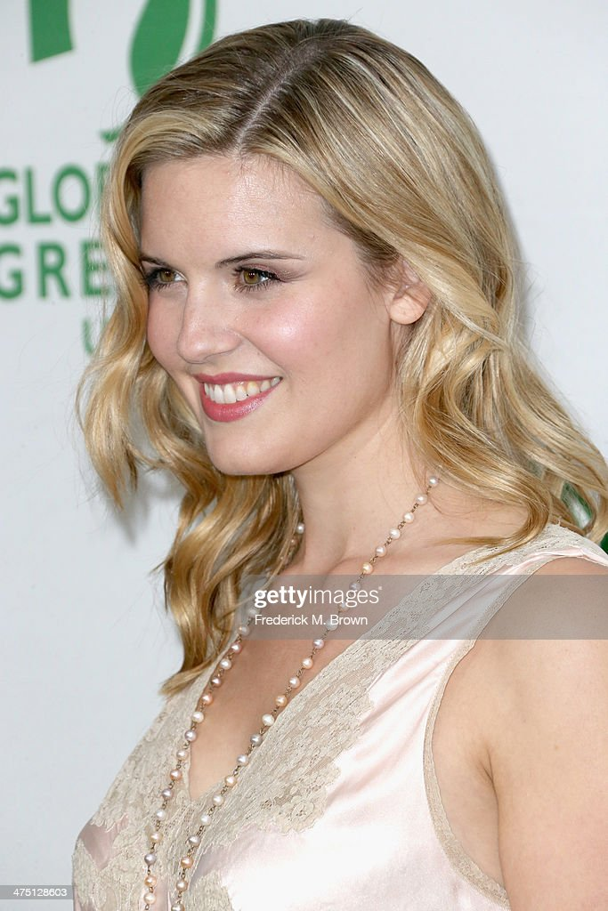 Actress Maggie Grace attends Global Green USA's 11th Annual Pre-Oscar party at Avalon on February 26, 2014 in Hollywood, California.