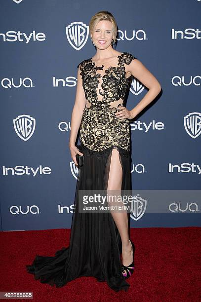 Actress Maggie Grace attends the 2014 InStyle and Warner Bros 71st Annual Golden Globe Awards PostParty on January 12 2014 in Beverly Hills California