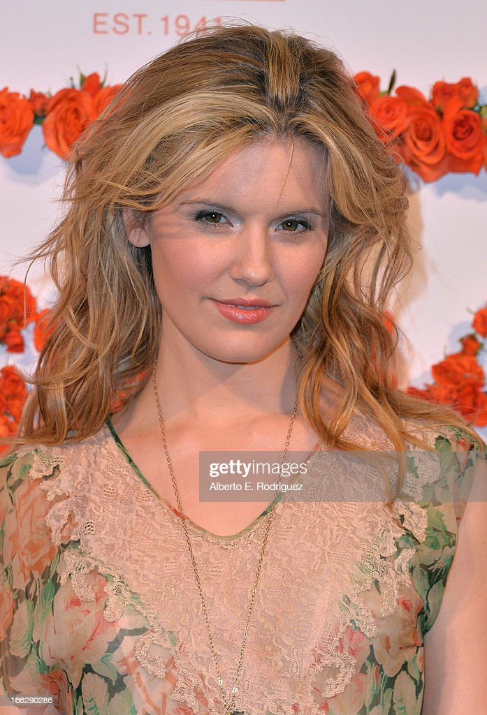 Actress Maggie Grace attends the 3rd Annual Coach Evening to benefit Children's Defense Fund at Bad Robot on April 10, 2013 in Santa Monica, California.