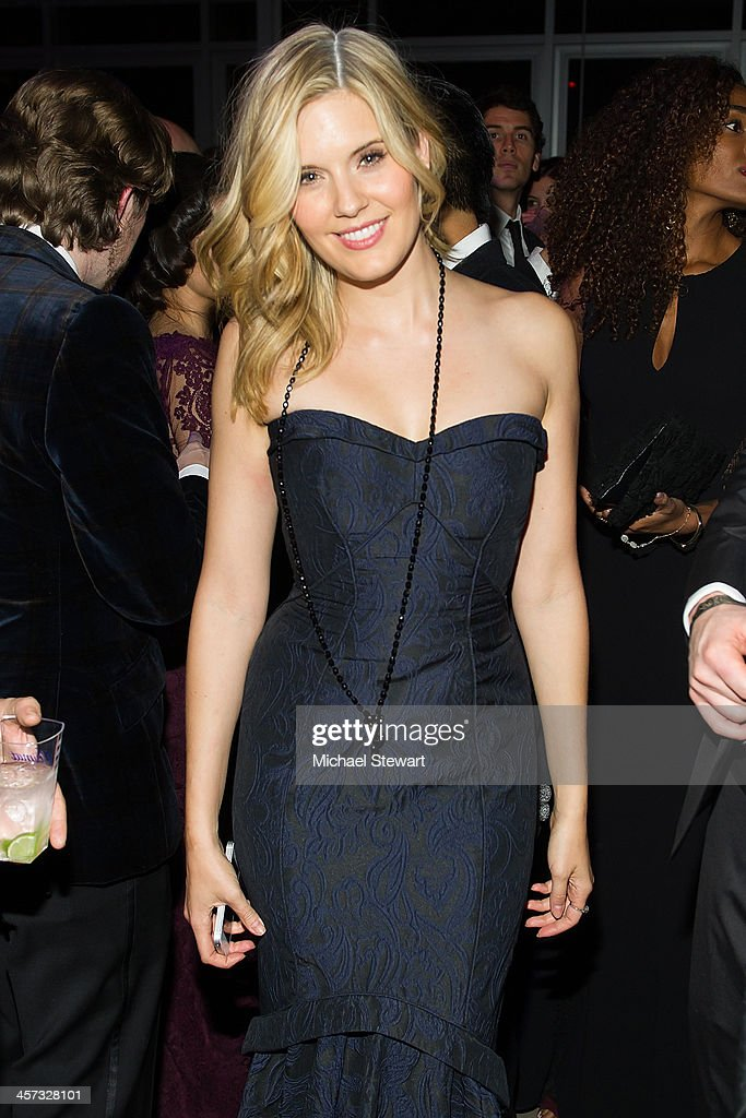 Actress <a gi-track='captionPersonalityLinkClicked' href=/galleries/search?phrase=Maggie+Grace&family=editorial&specificpeople=213706 ng-click='$event.stopPropagation()'>Maggie Grace</a> attends the 8th annual charity: ball Gala at the Duggal Greenhouse on December 16, 2013 in the Brooklyn borough of New York City.
