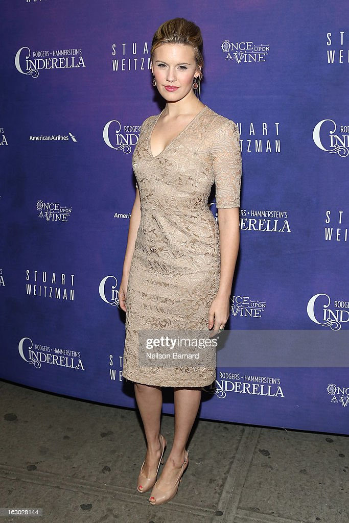 Actress Maggie Grace attends the 'Cinderella' Broadway Opening Night at Broadway Theatre on March 3, 2013 in New York City.