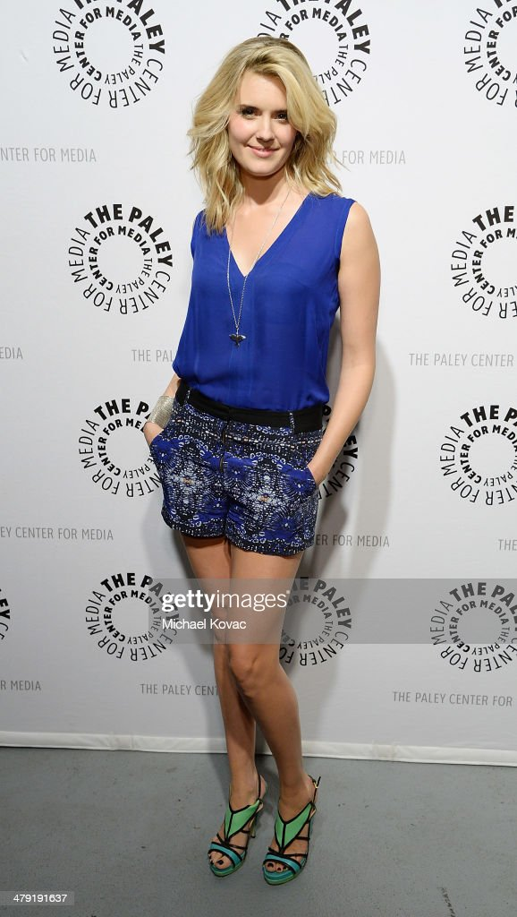 Actress Maggie Grace attends The Paley Center For Media's PaleyFest 2014 Honoring 'Lost: 10th Anniversary Reunion' at Dolby Theatre on March 16, 2014 in Hollywood, California.
