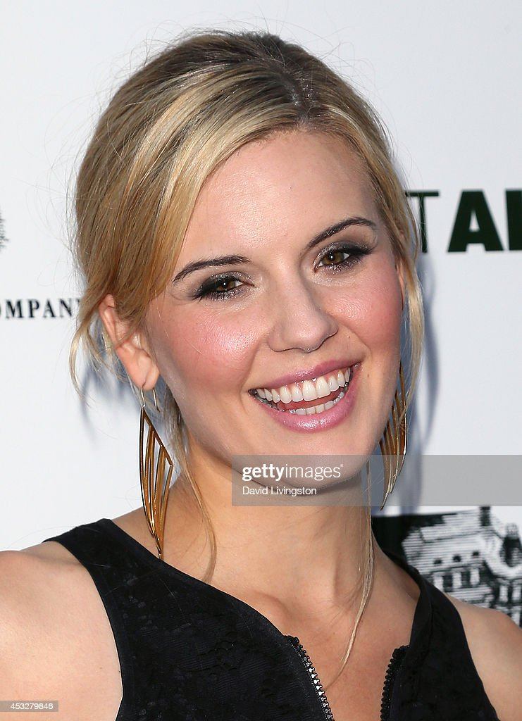 Actress <a gi-track='captionPersonalityLinkClicked' href=/galleries/search?phrase=Maggie+Grace&family=editorial&specificpeople=213706 ng-click='$event.stopPropagation()'>Maggie Grace</a> attends the premiere of 'About Alex' at ArcLight Hollywood on August 6, 2014 in Hollywood, California.