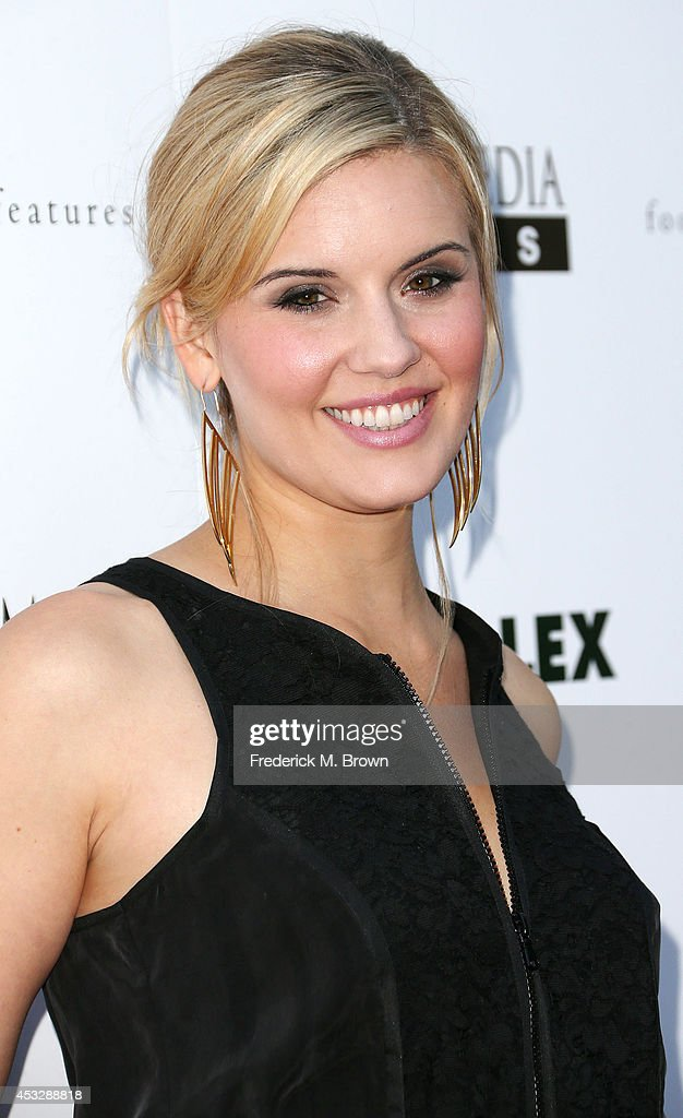 Actress <a gi-track='captionPersonalityLinkClicked' href=/galleries/search?phrase=Maggie+Grace&family=editorial&specificpeople=213706 ng-click='$event.stopPropagation()'>Maggie Grace</a> attends the Premiere of 'About Alex' at the ArcLight Hollywood on August 6, 2014 in Hollywood, California.