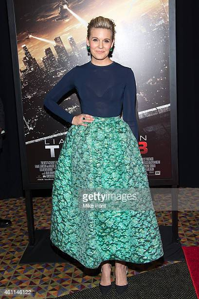 Actress Maggie Grace attends the 'Taken 3' Fan Event Screening at the AMC Empire 25 theater on January 7 2015 in New York City