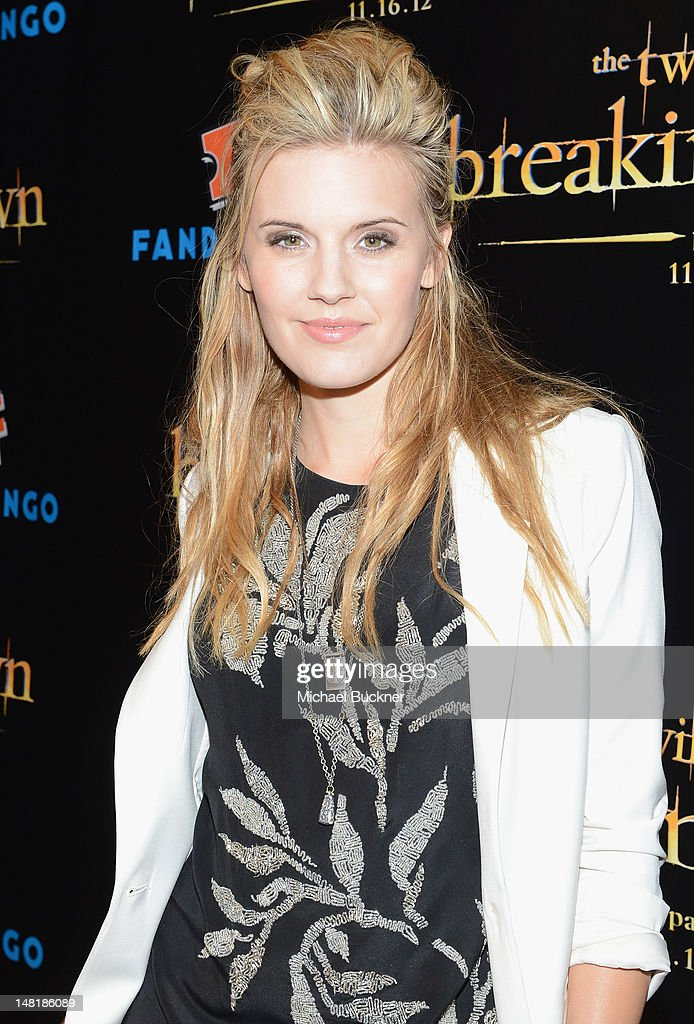 Actress Maggie Grace attends 'The Twilight Saga: Breaking Dawn Part 2' VIP Comic-Con Celebration Sponsored by Fandango at Float in the Hard Rock Hotel on July 11, 2012 in San Diego, California.