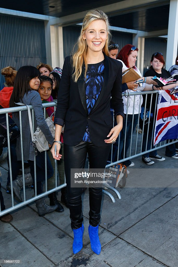 Actress Maggie Grace attends the 'Twilight Saga: Breaking Dawn Part 2' Fan Camp held at L.A. LIVE on November 11, 2012 in Los Angeles, California.