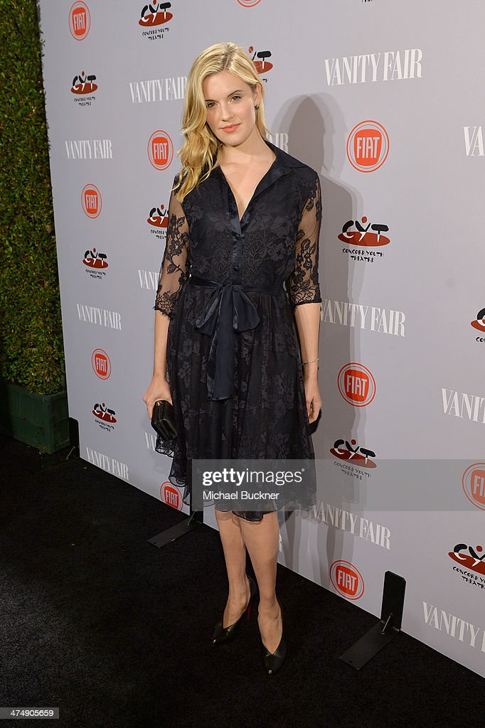 Actress <a gi-track='captionPersonalityLinkClicked' href=/galleries/search?phrase=Maggie+Grace&family=editorial&specificpeople=213706 ng-click='$event.stopPropagation()'>Maggie Grace</a> attends Vanity Fair and FIAT celebration of 'Young Hollywood' during Vanity Fair Campaign Hollywood at No Vacancy on February 25, 2014 in Los Angeles, California.