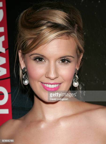 Actress Maggie Grace attends 'Variety's 10 Actors To Watch' event at The Roosevelt Hotel on October 30 2009 in Hollywood California